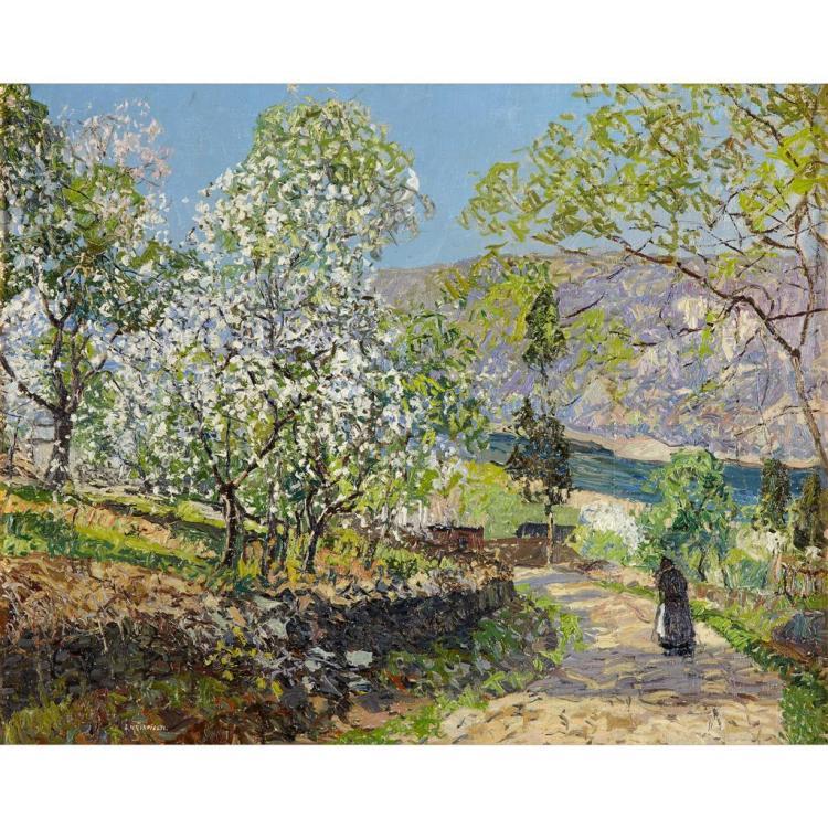 EDWARD WILLIS REDFIELD, (AMERICAN 1869-1965),