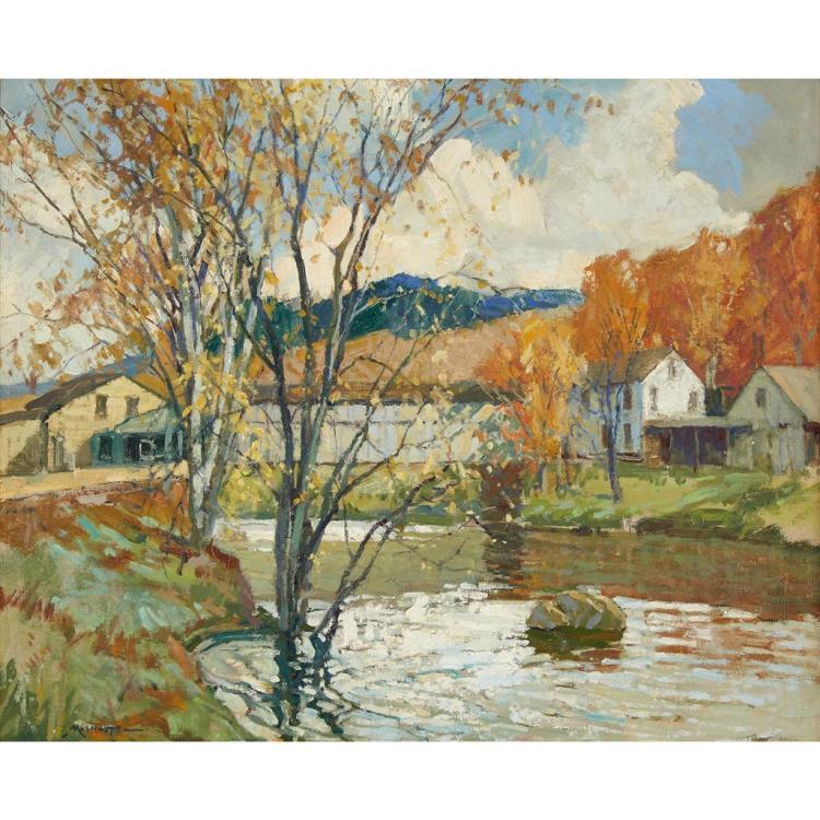 FREDERICK J. MULHAUPT, (AMERICAN 1871-1938),
