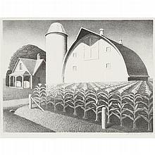 GRANT WOOD, (AMERICAN 1891-1942),