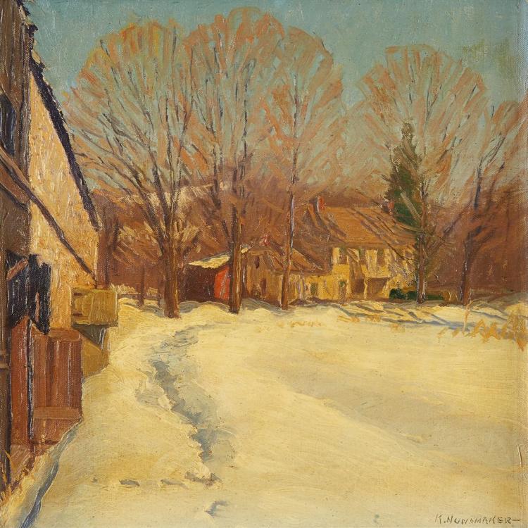KENNETH R. NUNAMAKER, (AMERICAN 1890-1957),