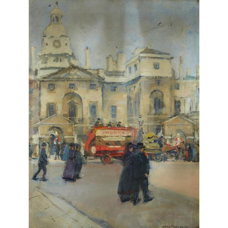 JANE PETERSON, (AMERICAN 1876-1965), WHITEHALL, LONDON