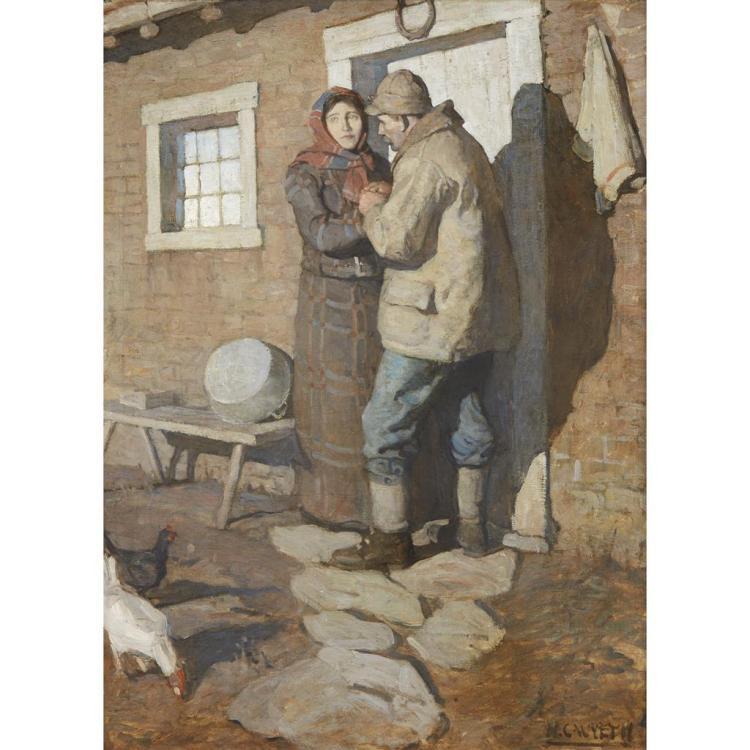 NEWELL CONVERS WYETH, (AMERICAN 1882-1945),