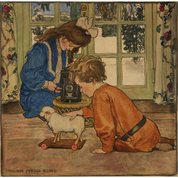 an analysis of elizabeth shippen green the illustrator of the new women Her artist group consisting of violet oakley and elizabeth shippen green in art #women in illustration #women's new york in 1932 to pursue an illustration.