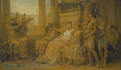 DIOGENE ULYSSE NAPOLEON MAILLART, (FRENCH 1840-1926),