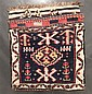 Shahsavan complete bag, northwest persia, circa 1900,