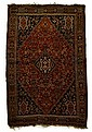 Khamseh carpet, south central persia, late 19th century,