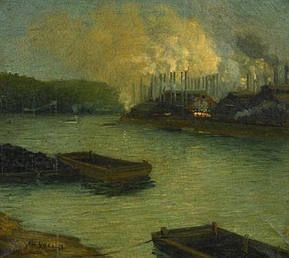AARON HENRY GORSON (AMERICAN 1872-1933)