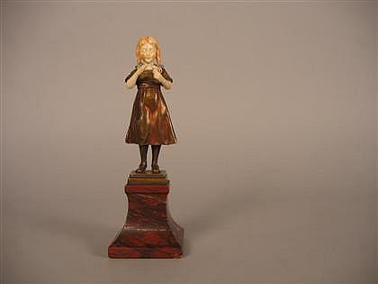 Alfred Wilhelm Brandel patinated bronze