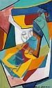 MORRIS BLACKBURN, (AMERICAN 1902-1979), ABSTRACT COMPOSITION, Morris Atkinson Blackburn, Click for value