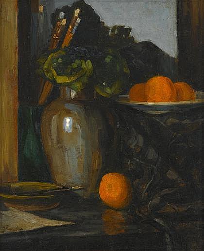 BASIL POUSTOCHKINE, (RUSSIAN 1893-1973), STILL LIFE