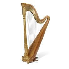 A Lyon & Healy 'Special No. 3' concert harp, Chicago, 1917