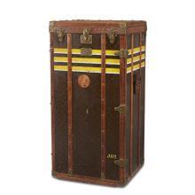 A Louis Vuitton monogrammed canvas wardrobe trunk, circa 1920-30