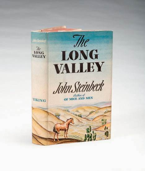 1 vol. Steinbeck, John. The Long Valley. New York: Viking, 1938. First edition.