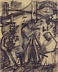 ALBERT KOTIN (American 1907-1980)  SURVEYORS, Albert Kotin, Click for value