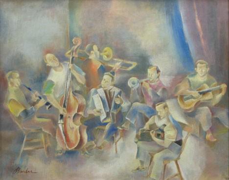 JOHN BARBER, (AMERICAN 1898-1965), PA DUTCH MUSICIANS