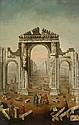 ATTRIBUTED TO GIOVANNI BATTISTA BORRA, (ITALIAN 1713-1770), THE RUINS OF PALMYRA