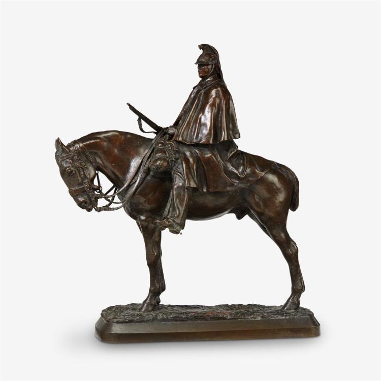 Pierre Nicholas Tourgeneff (French/Russian, 1854-1912), Dragon en Vedette