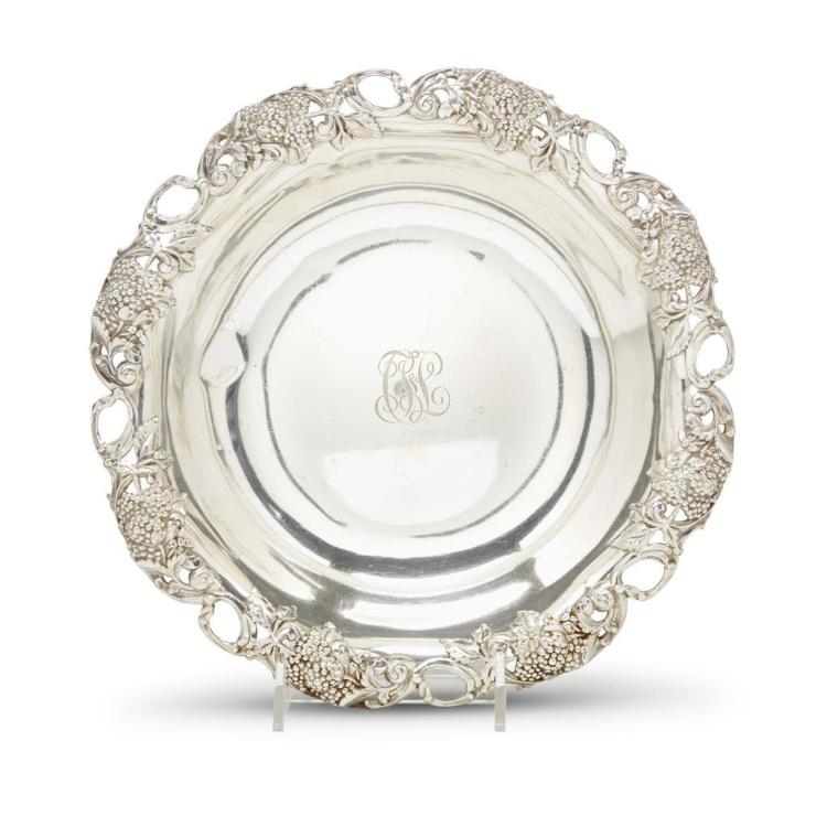 An American sterling silver centerpiece bowl, Tiffany & Co., New Nork, NY