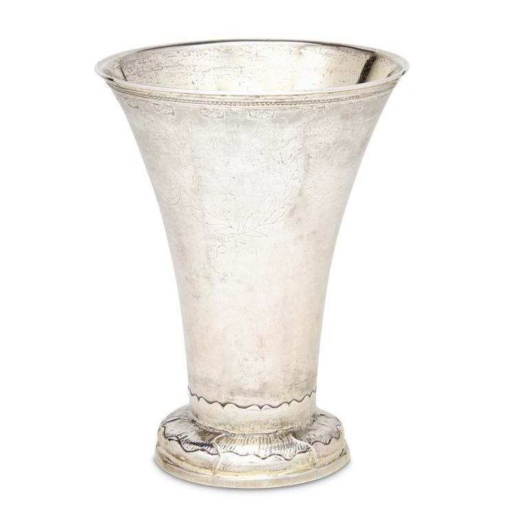 A Continental silver vase, probably Swedish, 20th century