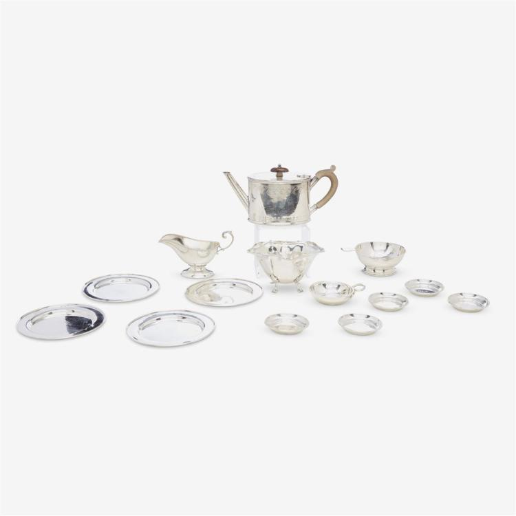 A collection of silver holloware, various makers, various dates