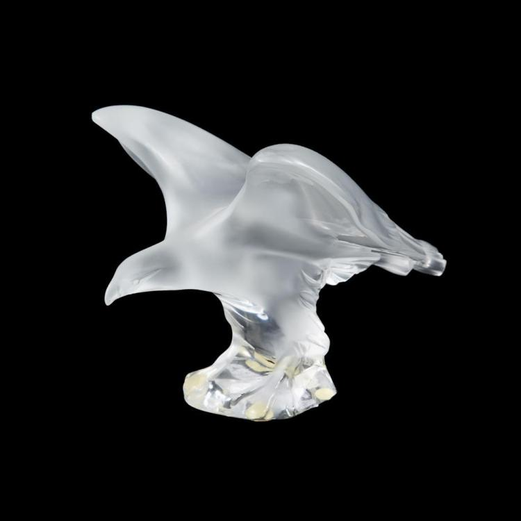 A Lalique ''Aigle Royal'' sculpture, France, 20th century
