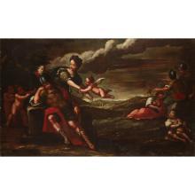 LOMBARD SCHOOL, (17TH CENTURY), DREAM OF SCIPIO