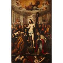 ATTRIBUTED TO CLEMENTE BOCCIARDO (IL CLEMENTONE), (ITALIAN 1620-1658), CORPUS DOMINI