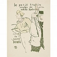 HENRI DE TOULOUSE-LAUTREC, (FRENCH 1864-1901),