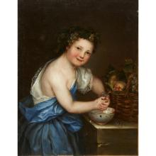 CONTINENTAL SCHOOL, (18TH CENTURY), YOUNG BACCHUS