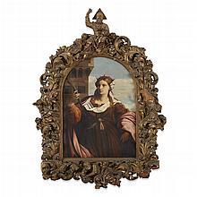 AFTER JACOPO PALMA IL VECCHIO, (ITALIAN C. 1479-1528), SAINT BARBARA