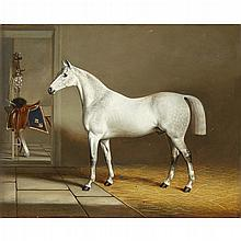 JAMES LODER OF BATH, (BRITISH 1784-1860), HORSE IN A STABLE; AND A COMPANION