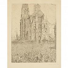 JAMES ENSOR, (BELGIAN 1860-1949),