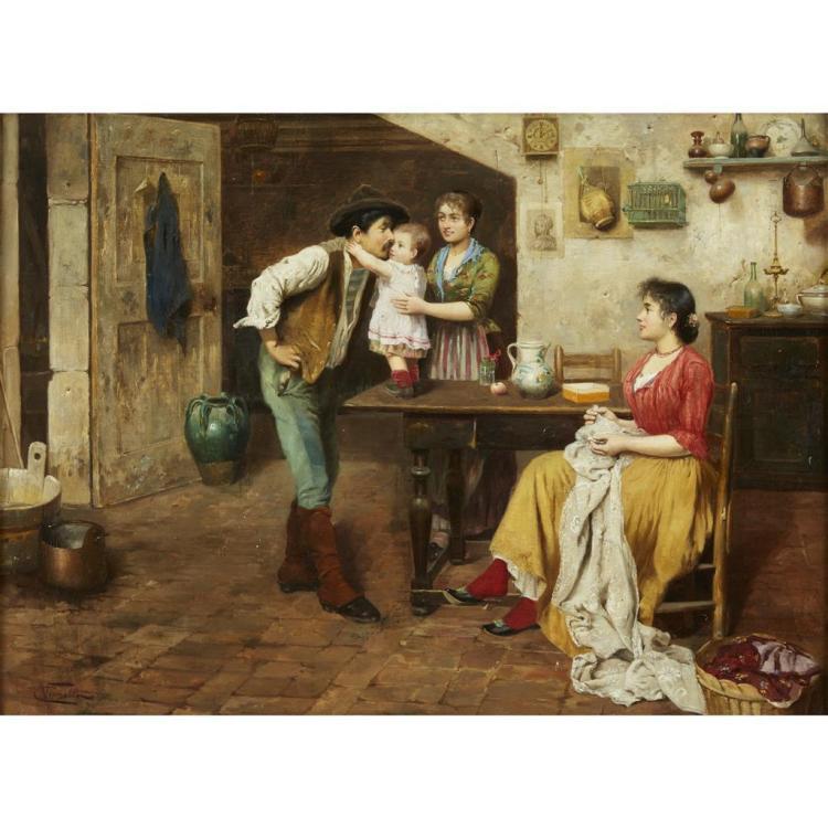 CESARE VIANELLO, (ITALIAN 1862-C. 1920),