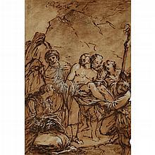 GIUSEPPE PIATTOLI, (ITALIAN 1743-1823), DEPOSITION