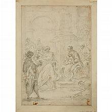 ATTRIBUTED TO FRANCESCO SALVATOR FONTEBASSO, (ITALIAN 1709-1769), THE THREE MAGI