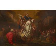 FLEMISH SCHOOL, (17TH CENTURY), THE ASCENSION OF THE VIRGIN