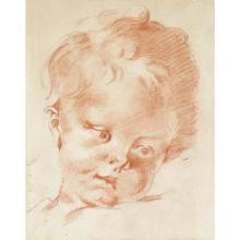 FRENCH SCHOOL, (18TH CENTURY), A CHILD''S HEAD