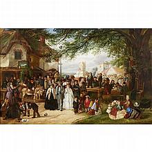 CHARLES HUNT, (BRITISH 1803-1877),