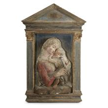 MANNER OF DONATELLO, (ITALIAN 1386-1466), VIRGIN AND CHILD