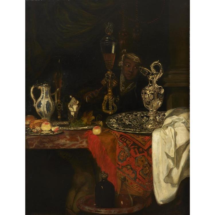 AFTER BAREND VAN DER MEER, (DUTCH C. 1659-C. 1702), STILL LIFE WITH MOOR