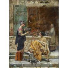 EMILIO VASARRI, (ITALIAN 1862-1931), NEOCLASSICAL SCENE