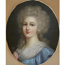 MANNER OF JEAN MARC NATTIER, (FRENCH 1685-1766)PORTRAIT OF A LADY, BUST-LENGTH