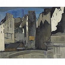 GERM GERIN DE JONG, (DUTCH 1886-1967), TOWNSCAPE