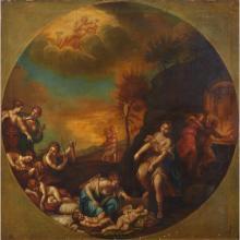 ITALIAN SCHOOL, (17TH-18TH CENTURY), DIANA THE HUNTRESS DISCOVERING SLEEPING CHERUBS
