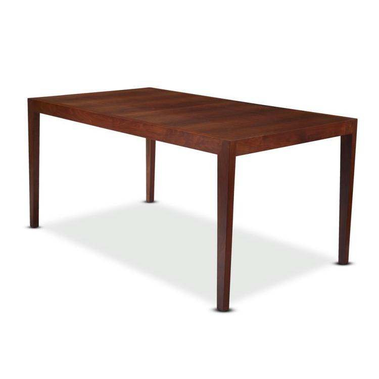 Florence knoll walnut extension dining table model 303 kno for Knoll associates