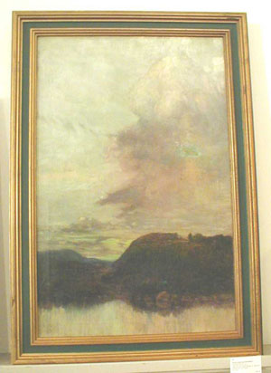 HENRY MORTIKAR ROSENBERG (American 1858-1947) 'THE NOVA SCOTIA HILLS'