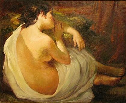 ROSENDO GONZALEZ CARBONELL, (SPANISH, 1910-1984), SLEEPING WOMAN