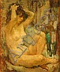 MARYSE DUCAIRE-ROQUE, (FRENCH 1911-1992), SEATED NUDE, Maryse Ducaire, Click for value