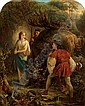 ALFRED FOWLER PATTEN, (BRITISH 1826-CA. 1888), MIRANDA AND PROSPERO MEETING FERDINAND