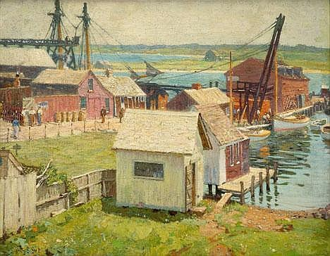 HENRY BAYLEY SNELL, (AMERICAN 1858-1943),